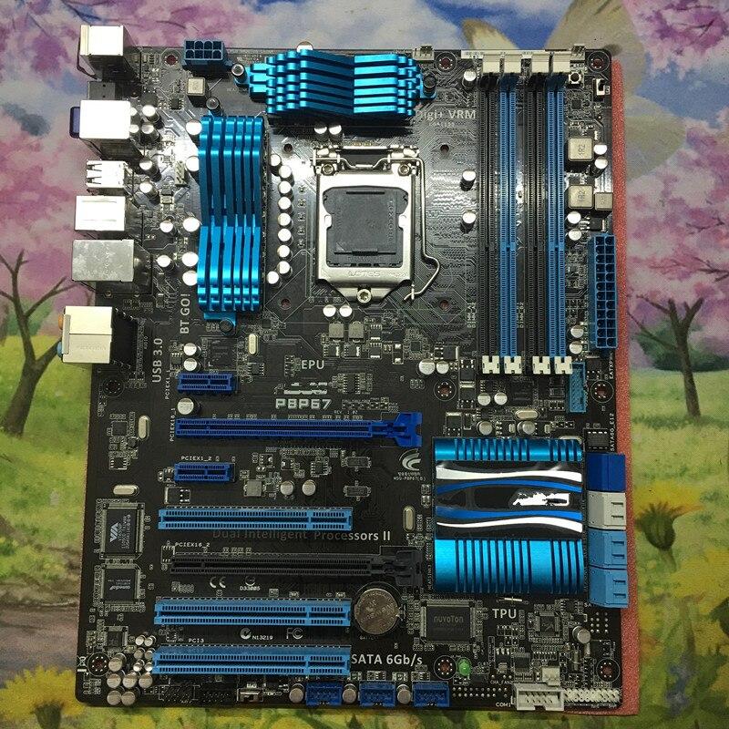 P67 motherboard used for ASUS P8P67 B3 P67 LGA1155 DDR3 USB3.0 SATA3