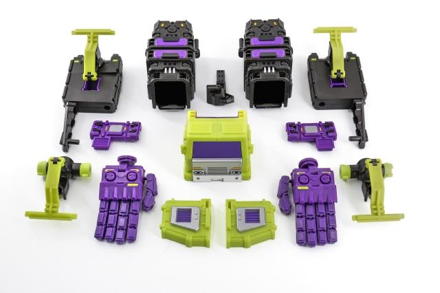 ФОТО X2Toys & SHADOW FISHER XS001 Upgrade Kit for IDW Devastator,In stock.