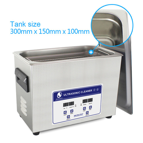 SKYMEN Ultrasonic Cleaner Bath 4.5L 180W 40kHz For Pen-heads, Printer heads, Inkjet Cartridges and Seals,Coins ,Auto parts Lahore