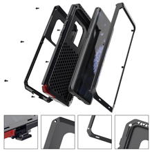 Heavy Duty Aluminum Metal Shockproof Armor Case For Samsung Galaxy S5 S6 S7 edge S10 S10E S9 S8 Plus Cover For Note 9 8 5 4 3