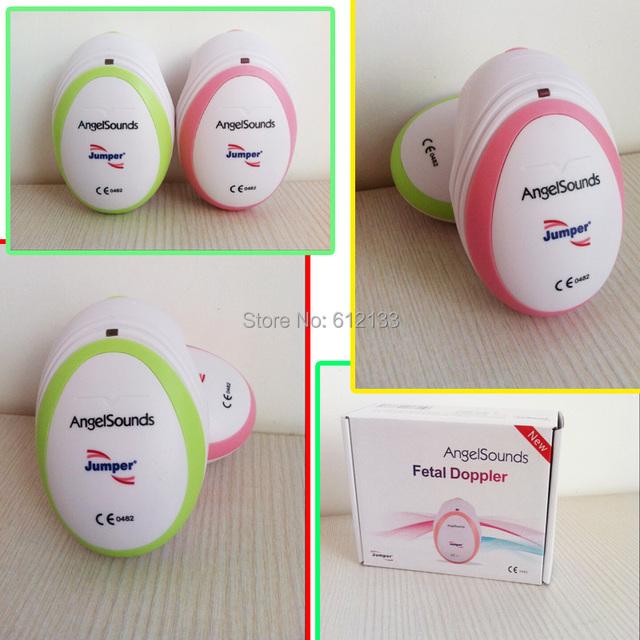 10 unids directos CE & FDA Fábrica doppler fetal, ecografía bolsillo monitor fetal, monitor de el monitor prenatal, ángel sonido