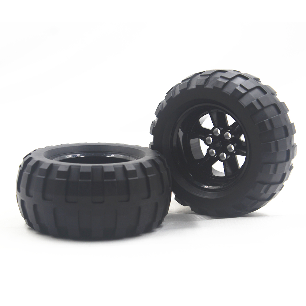 MOC BLOCKS Technic Parts 1pcs TYRE BALOON WIDE DIA94,8 X 44 & RIM DIA 56 X 34 Compatible With Lego For Kids Boys Toy