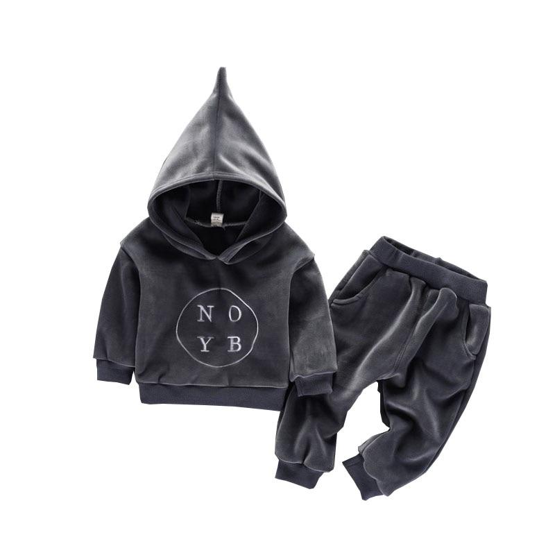 2019 Oferta Specjalna Pełna Solidna Aktywna Płaszcz Unisex Sweter Z - Ubrania dziecięce - Zdjęcie 1