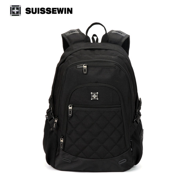 976099e4b084 US $47.3 |Suissewin brand school bags backpack swiss win nylon boys girls  backpack sac a dos male mochila bagpack bag to school-in Backpacks from ...