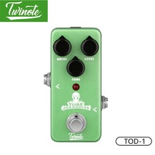 Twinote TOD-1 Guitar Pedal With Nature Warm Tube Overdrive Sound For Boost AMP And Adjustable Range Of Gain Guitar Accessories(China)