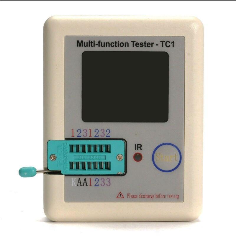 2018 Transistor Tester Tft Diode Triode Capacitance Meter Lcr Esr Npn Pnp Mosfet