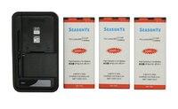 Seasonye 3x 3000mAh BV T5E BVT5E BV T5E Replacement Battery + Universal Charger For Microsoft Lumia 950 RM 1106 RM 1104 RM 110