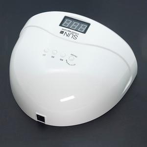 Image 5 - SAMVI Sunone 30 шт УФ светодиодный 48 Вт Светодиодный УФ гель для ногтей отверждение лампа светильник для ногтей Сушилка для ногтей машина для дизайна ногтей