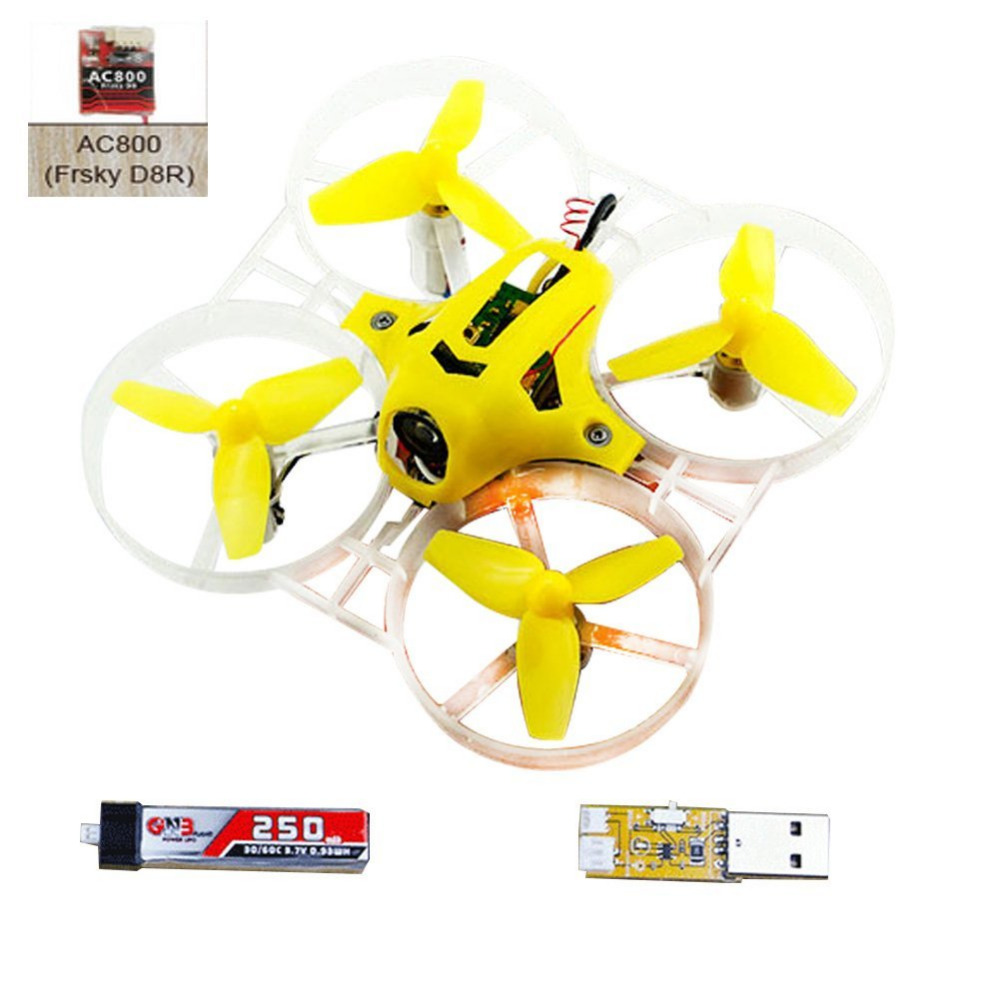 ФОТО Kingkong Tiny7 PNP Mini Racing Drone Quadcopter with 800TVL Camera (Basic Version) F20008/12