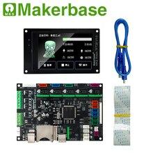 Makerbase MKS Robin2 32Bit Control Board 3D Printer parts  3.5tft touch screens Wifi Control Gcode Preview maitech 03100552 3d printer control board temperature control board green