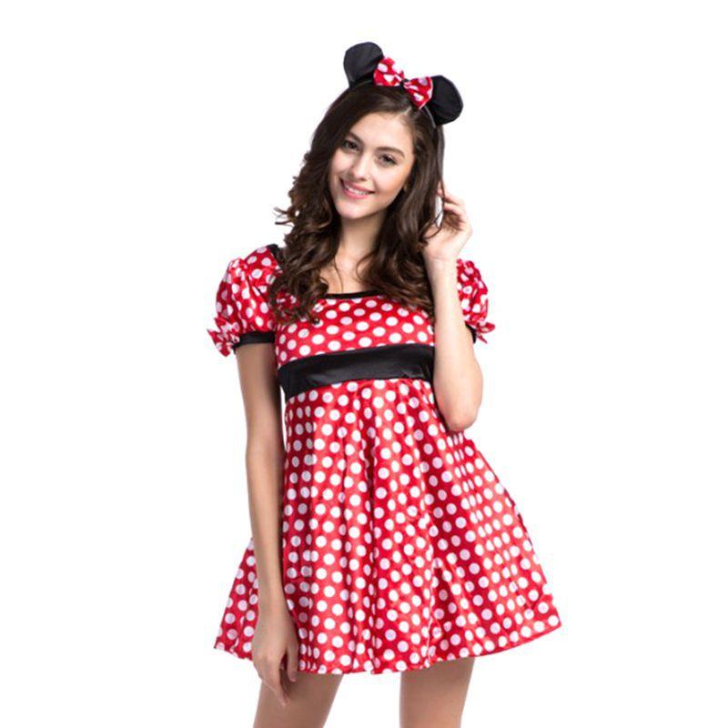 minnie mouse costume disfraces carnaval halloween costume anime