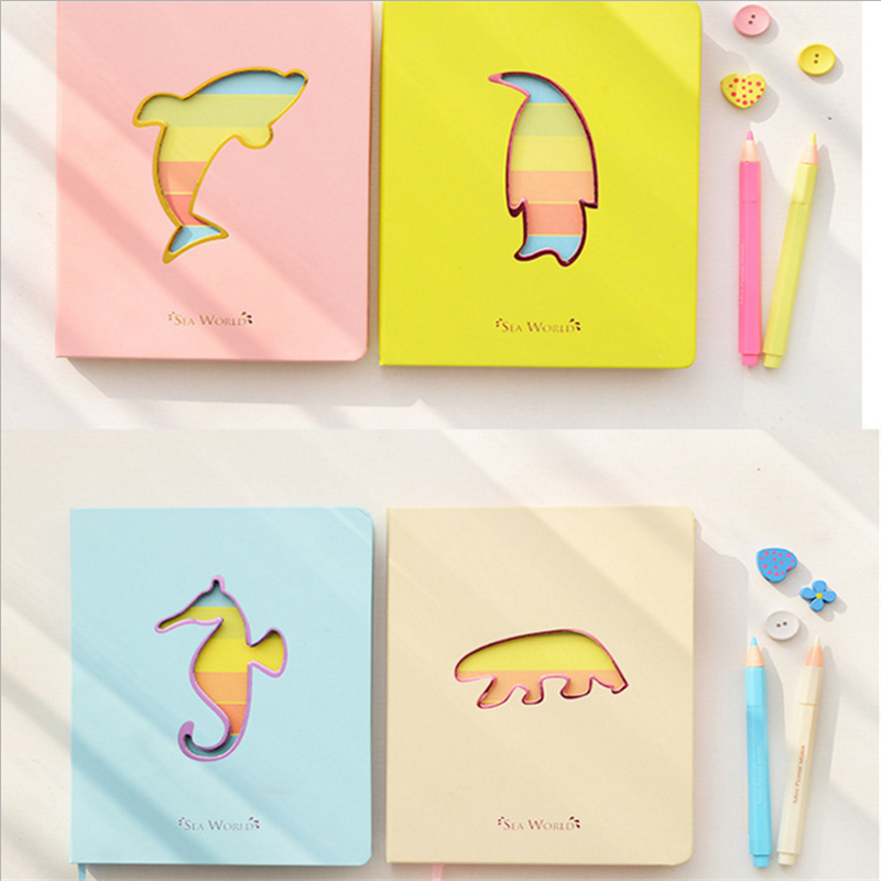 Trochilus cute animals lovely notebook cute kawaii notepad agenda daily planner office school stationery supplies gift for girl cute diary notebook 112 sheets daily plan buckle pu leather a5 planner school supplies papelaria office stationery free shipping
