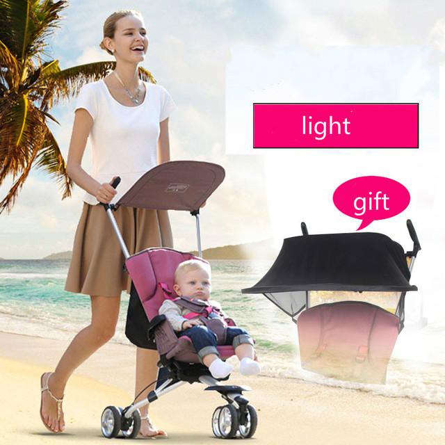Carro do bebê portátil guarda-chuva carro carrinho de bebê carrinho de d888 dobrado saco do trole do bebê portátil