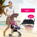 baby car  Portable umbrella car baby pram d888 folded trolley bag The portable baby stroller