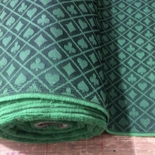 FT-04 двухцветная покерная скатерть, дизайн, черный и зеленый водонепроницаемый подходит высокоскоростная ткань для покерного стола