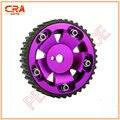 CRA Rendimiento-Púrpura Cam Gear/Cam Polea/Sincronización Sproket fit para MITSUBISHI 4G93
