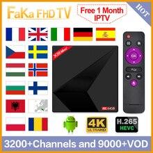 IPTV Spain Arabic IPTV France Free 1 Month IPTV X88 MAX Android 9.0 TV Box Canada Spain IP TV UK Portugal Italia Europe IP TV