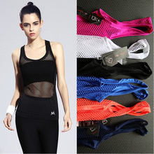 Women Quick-Drying Yoga Sleeveless Vest Tights Mesh Hollow Out Sports Tank tops Skinny Workout Female Underwears Straps Clothes