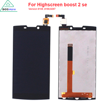 Original Quality For Highscreen boost 2 se 9169 9108 9267 LCD Display Touch Screen For INNOS D10 Black Color Mobile Phone LCDs