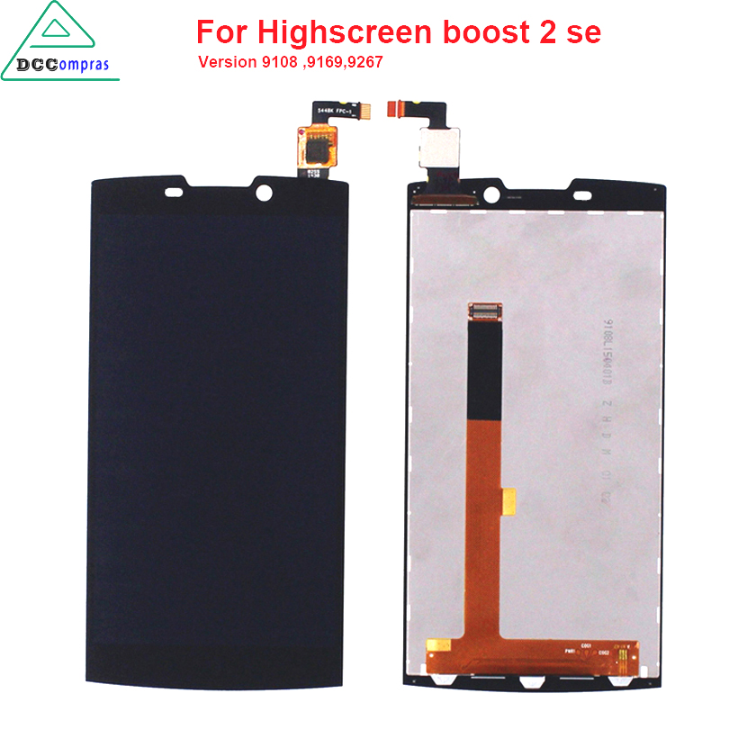 Original Quality For Highscreen boost 2 se 9169 9267 LCD Display Touch Screen For INNOS D10 Black Color Mobile Phone LCDs Original Quality For Highscreen boost 2 se 9169 9267 LCD Display Touch Screen For INNOS D10 Black Color Mobile Phone LCDs