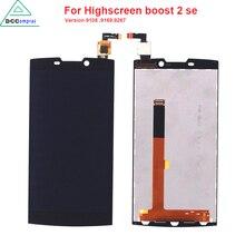 Оригинальное качество для Highscreen Boost, 2 SE 9169 9267 ЖК-дисплей Дисплей Сенсорный экран для Innos D10 черный Цвет мобильного телефона ЖК-дисплей S