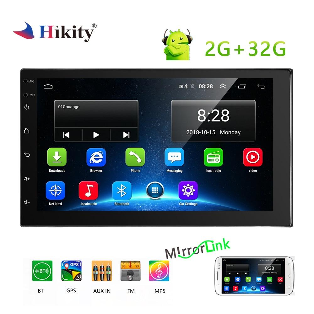 Hikity 2 din lecteur multimédia MP5 voiture 7