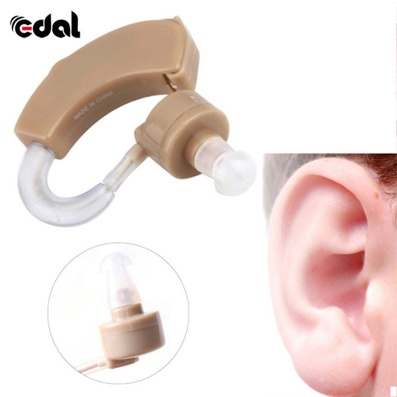 Portable Old Aid Hearing Aids Aid Kit Behind The Ear Sound Amplifier Sound Adjustable Device Time-limited Tone Hearing jecpp behind ear hearing aid kit with uv box adjustable hearing enhancement sound amplifier device sound enhancer kxw 212 hot