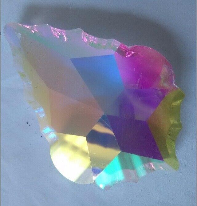 10pcslot 38mm ab color crystal maple leaf shape glass drop prism 10pcslot 38mm ab color crystal maple leaf shape glass drop prism french style crystal chandelier hanging pendant in chandelier crystal from lights aloadofball Images