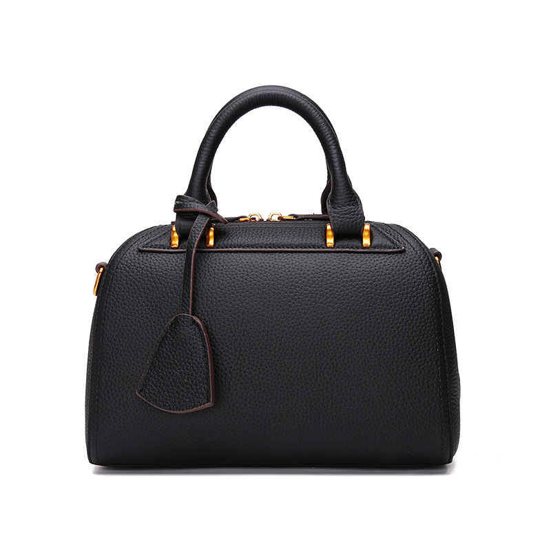 Genuine Leather Bags Ladies Real Leather Bags Women Handbags Casual Tote High Quality Female Fashion  Boston Crossbody Bag C323
