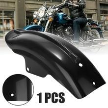 Black Plastic Motorcycle Rear Mudguard Fender for H-arley S-portster Solo B-obber C-hopper Cafe Racer 883 883R 1200 1994 - 2003