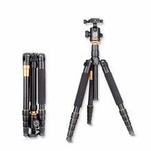Eachshot Q666ขาตั้งกล้องที่มีQ-02 360องศาหมุนของเหลวหัวสำหรับCanonสำหรับP EntaxสำหรับSonyสำหรับOlympus DSLRกล้อง