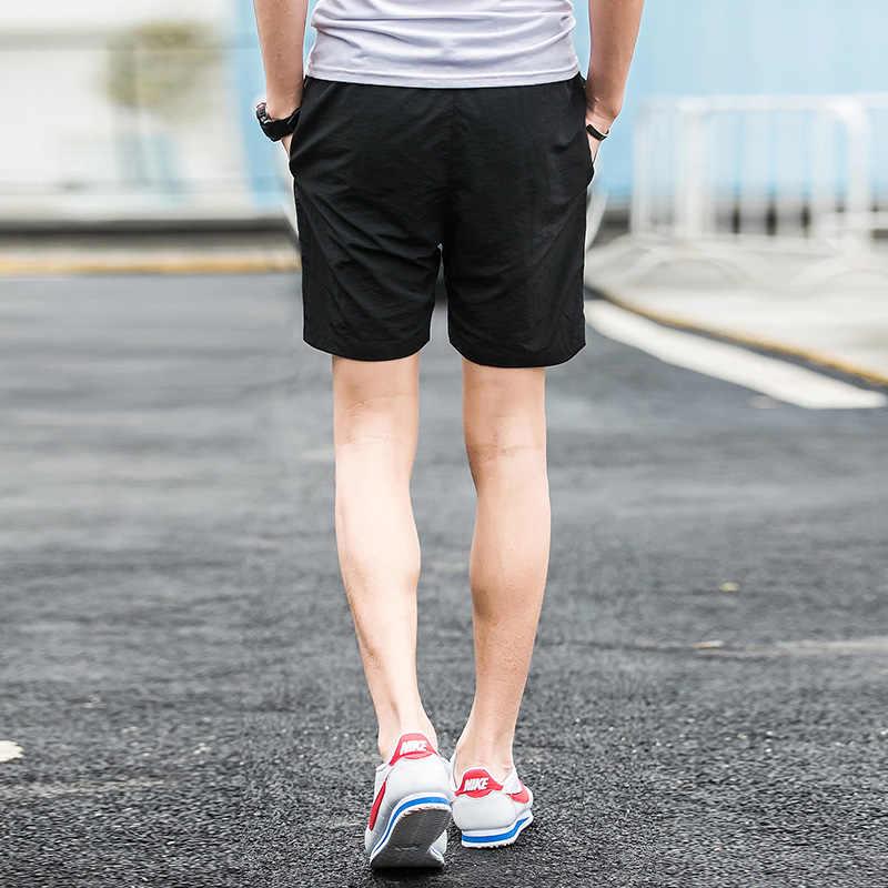 2019 novos shorts dos homens verão praia board shorts venda quente casual curto masculino sólido qualidade elástica moda rápido seco curto S-5XL 1007