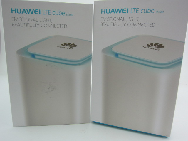 Lot of 2pcs HUAWEI E5180 e5180s 22 4G 2G 3G LTE 150Mbps UNLOCKED NEW Router VOIP BOXED