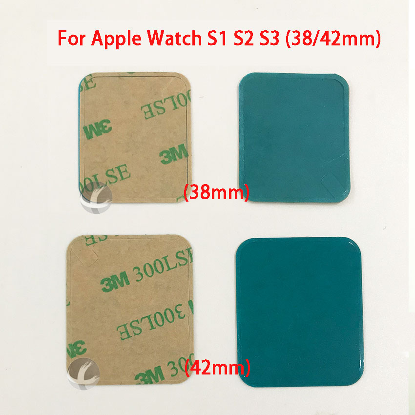 All New 1PC Screen Frame Sticker 38 42mm For Apple Watch Series 1 2 3 4 S1 S2 S3 S4 (40 44mm) Double Side Adhesive
