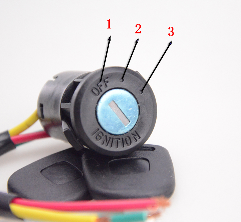 Goofit 3 Wire Ignition Switch Key 50cc 70cc 90cc 110cc 150cc 200cc 250cc Go Kart Dune Buggy Buggies ATV Dirt Bike Parts H054 011in Motorbike Ingition From: Hammerhead Ignition Switch Wire Diagram 4 At Executivepassage.co
