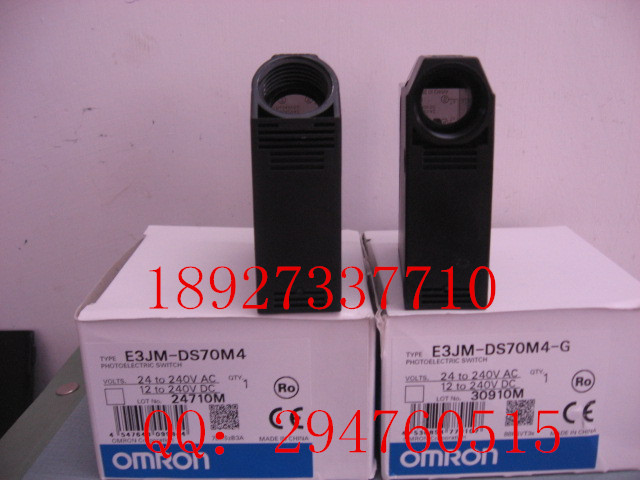 [ZOB] 100% new original OMRON Omron photoelectric switch E3JM-DS70M4 E3JM-DS70M4-G e3x da21 s photoelectric switch
