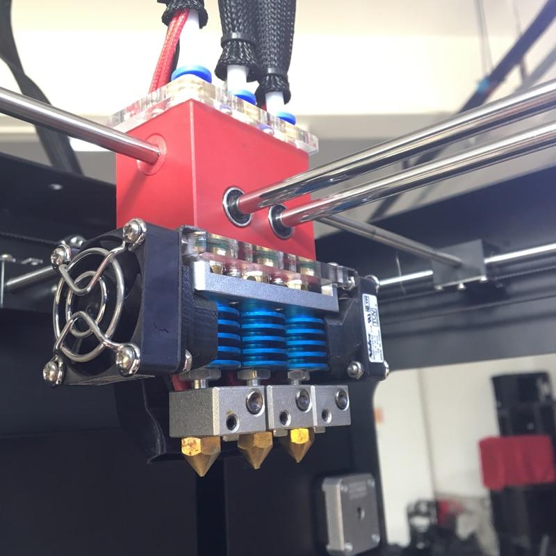 300 * 250 * 300mm Creatbot DX03 3D printer s trostrukim ekstruderom / - Uredska elektronika - Foto 6