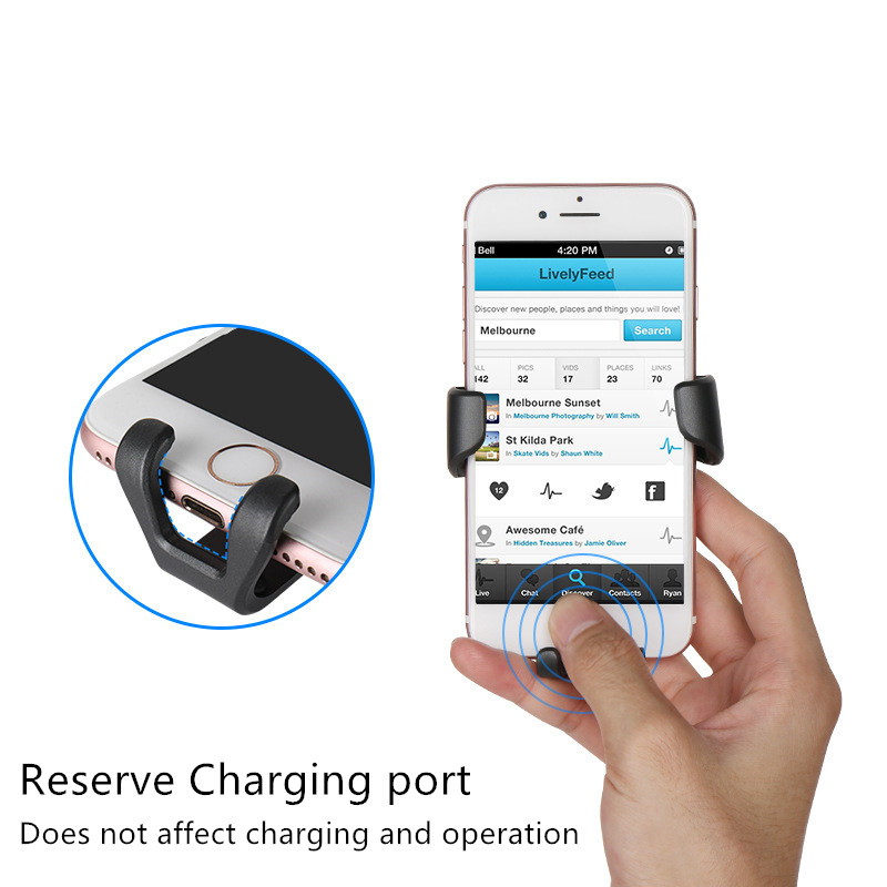 HTB1NjA dKUXBuNjt XBq6xeDXXaR - Car Phone Holder For Phone In Car Air Vent Mount Stand No Magnetic Mobile Phone Holder Universal Gravity Smartphone Cell Support
