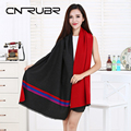 CN-RUBR Fashion Creative Personality Cashmere Scarves High Quality Fringed Scarves  Hot Selling Fall and Winter Warm Shawl