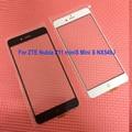 Высокое Качество Внешнего Сенсорный Экран на Передней Панели С Flex кабель для ZTE Nubia Z11 Mini S miniS NX549J Мобильного Телефона замена