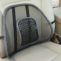 Car Seat Back Cushion Car ice silk lumbar massage lumbar cushion Piding waist cushion Lumbar Support Mesh Ventilate Cushion Pad