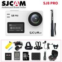 SJCAM SJ8 Pro Действие Камера 1296 P 4 К 30fps/60fps Спорт DV удаленного Управление шлем Камера более аксессуары (полный комплект коробка)