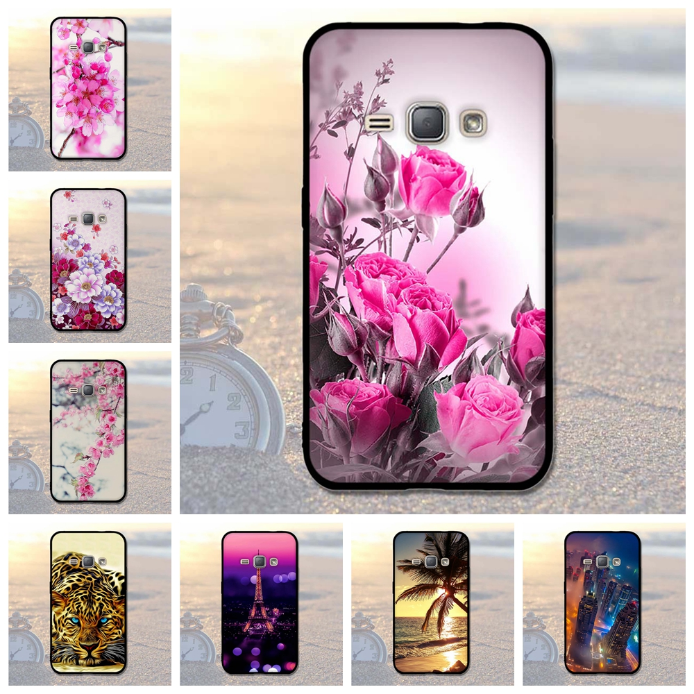 For J120 Smartphone Samsung Galaxy J1 (2016) SM-J120 Soft Silicone TPU Back Phone Cover Cases For Samsung Galaxy J120 J120F Bags