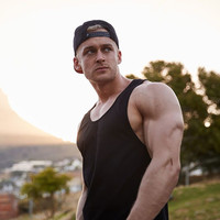 2018 NEW Solid Color Musculation Vest Bodybuilding Clothing And Fitness Men Undershirt Solid Tank Tops Blank