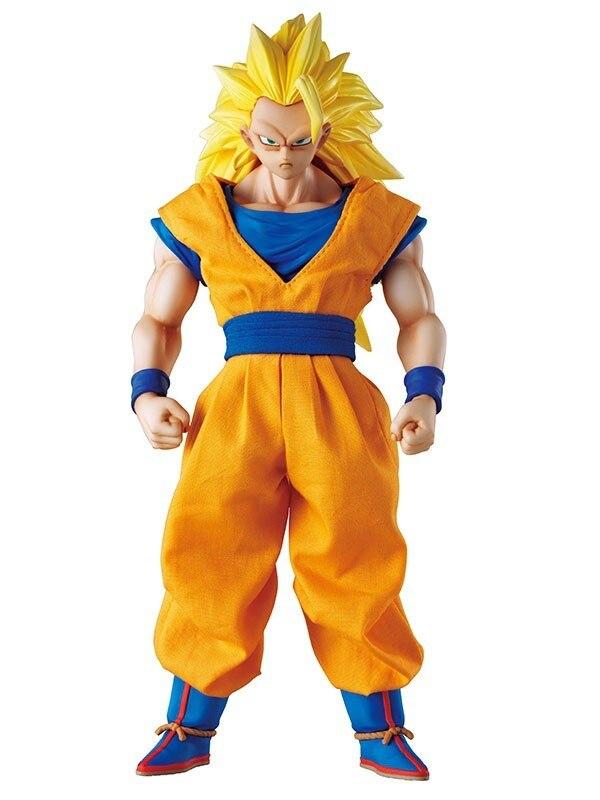 Figurine Dragon Ball de DOD Son Gokou Figure de DOD Son Gokou Super Seiyan 3 figurine MH Dimesion de Dragon Ball Z Action Figuras modèle