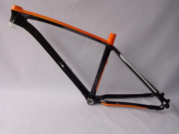 full carbon fiber fat bike frame chinese factory orange and blackchina mainland