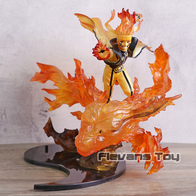 Figuarts Zero Naruto Shippuuden Namikaze Minato Kurama Figure Collectible Model Toy figuarts zero naruto uzumaki kurama kizuna relation painted pvc figure collectible model toy