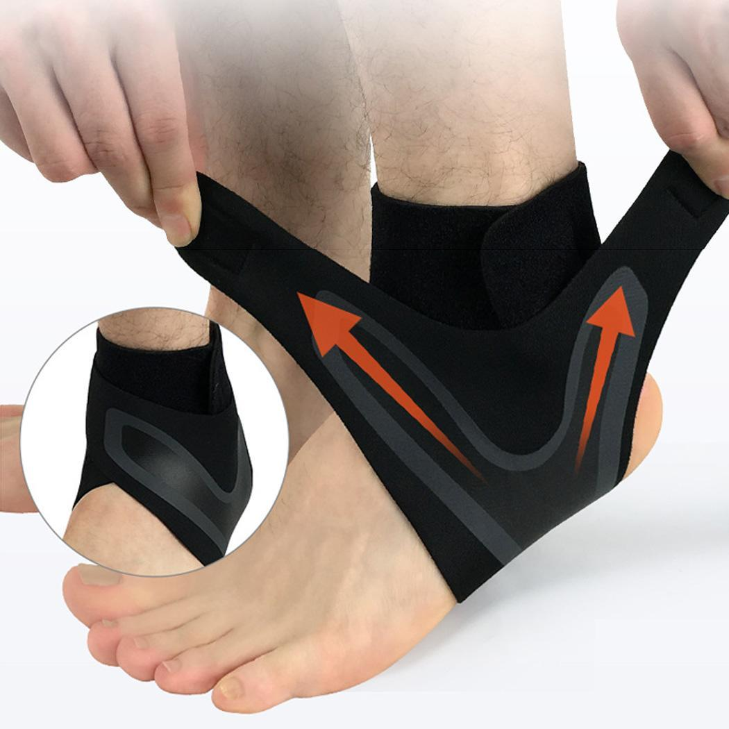 Sport Ankle Support Elastic High Protect Sports Ankle Equipment Safety Running Basketball Ankle Brace Support steel casing pipe