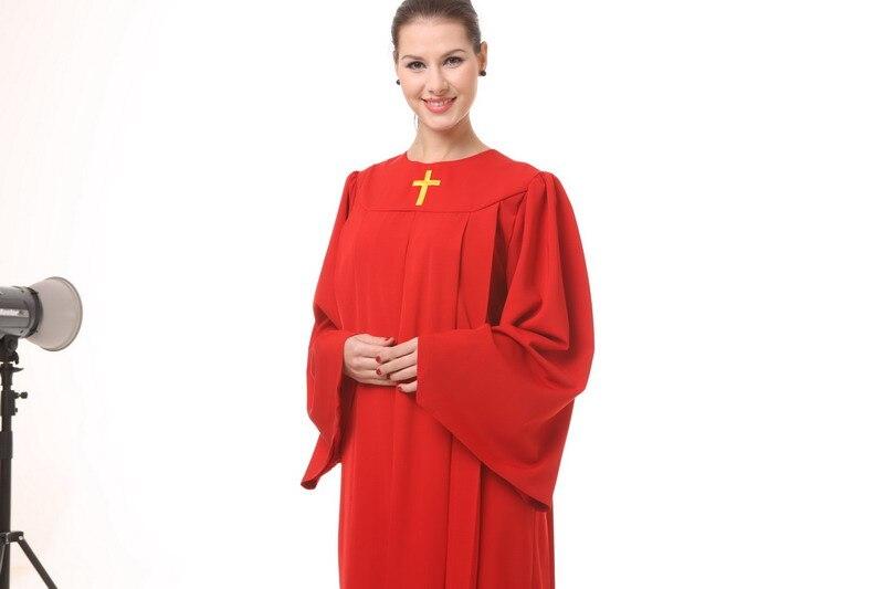 Христианской церкви хор платье Костюмы греческие класса Услуги одежда Свадебная гимн святые одежды костюм монахини христианской церкви пе...