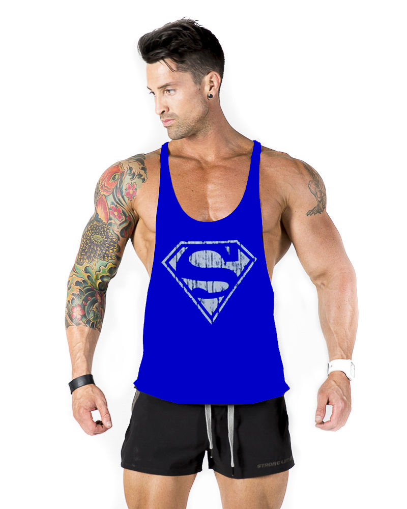 80e5d62cb6c9b1 brand famous gym shark Bodybuilding!fashion gymshark sleeveless shirts tank  top men sexy Fitness Muscle Men Shirt Golds Gym Vest-in Tank Tops from Men s  ...